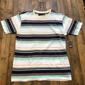 New Lost... S/S Multicolor Tee in Men's Large